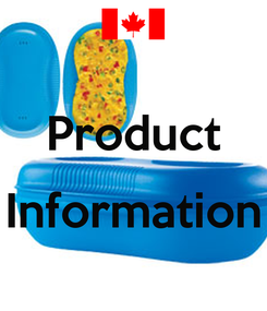 Poster:  Product  Information