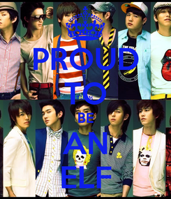 Poster: PROUD TO BE AN ELF