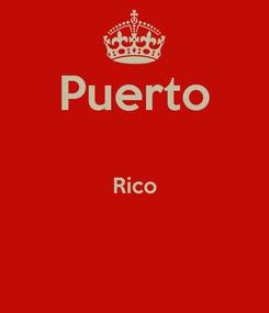 Poster: Puerto  Rico
