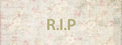 Poster:  R.I.P