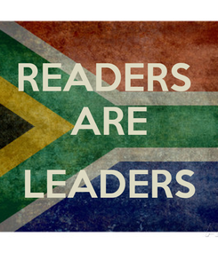 Poster: READERS  ARE  LEADERS