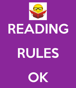 Poster:  READING RULES OK