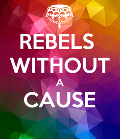 Poster: REBELS  WITHOUT A CAUSE