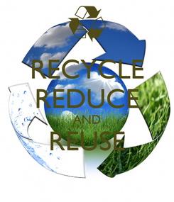 Poster: RECYCLE REDUCE AND REUSE