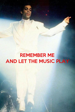 Poster: REMEMBER ME AND LET THE MUSIC PLAY