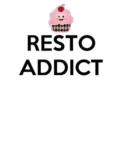 Poster: RESTO ADDICT