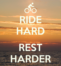 Poster: RIDE HARD  REST HARDER