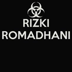 Poster: RIZKI ROMADHANI