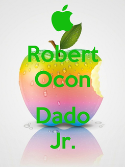 Poster: Robert Ocon  Dado Jr.