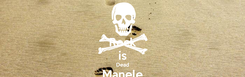 Poster: Rock is Dead Manele Forever