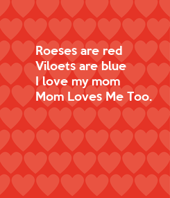Poster: Roeses are red