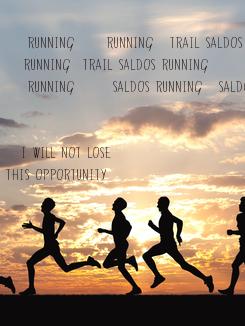 """Poster:  """" RUNNING7-Running-TRAIL SALDOS     Running  Trail SALDOS Running                 """" RUNNING7- SALDOS"""