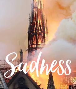 Poster:  Sadness