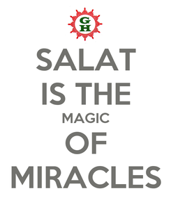 Poster: SALAT IS THE MAGIC OF MIRACLES