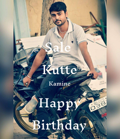 Poster: Sale  Kutte Kamine Happy Birthday