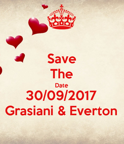 Poster: Save The Date 30/09/2017 Grasiani & Everton
