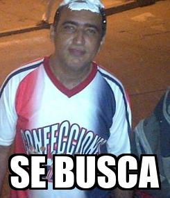 Poster:  SE BUSCA