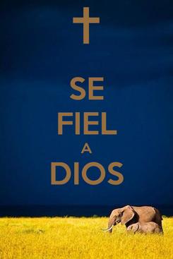 Poster: SE FIEL A DIOS