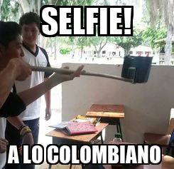 Poster: SELFIE! A LO COLOMBIANO
