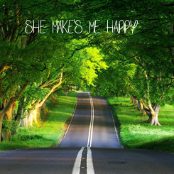 Poster: SHE MAKE'S ME HAPPY