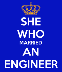 Poster: SHE WHO MARRIED AN ENGINEER