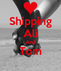 Poster: Shipping Ali And Tom