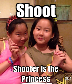 Poster: Shoot Shooter is the Princess