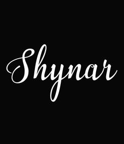 Poster: Shynar