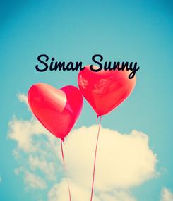 Poster: Siman Sunny