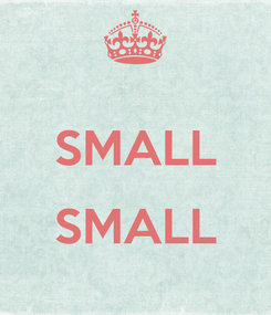 Poster:  SMALL  SMALL