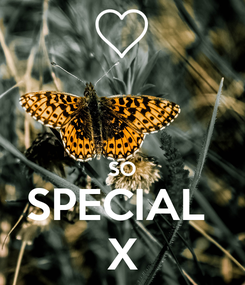 Poster:   SO SPECIAL  X