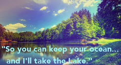 "Poster: ""So you can keep your ocean...