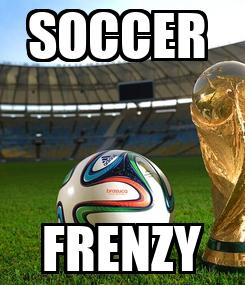 Poster: SOCCER  FRENZY