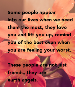 Poster: Some people appear