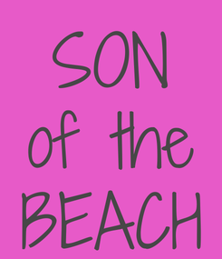 Poster: SON of the BEACH