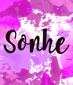 Poster: Sonhe