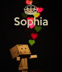 Poster: Sophia