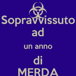 Poster: Sopravvissuto ad un anno di MERDA