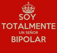 Poster: SOY  TOTALMENTE UN SEÑOR BIPOLAR