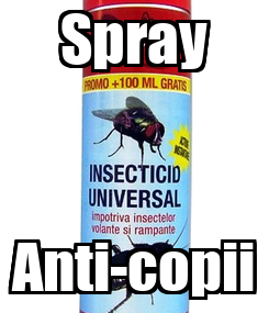 Poster: Spray Anti-copii