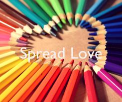 Poster:  Spread Love