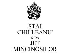 Poster: STAI CHILLEANU' & DA JET MINCINOSILOR