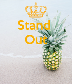 Poster: Stand  Out