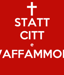 Poster: STATT CITT e VAFFAMMOK