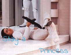 Poster:    Stay a                           Princess