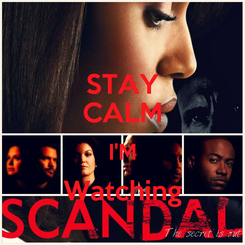 Poster: STAY CALM I'M Watching