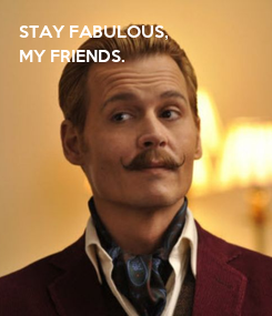 Poster: STAY FABULOUS, 