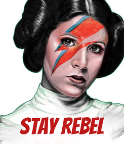 Poster:     STAY REBEL