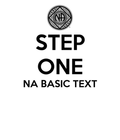 Poster: STEP ONE NA BASIC TEXT