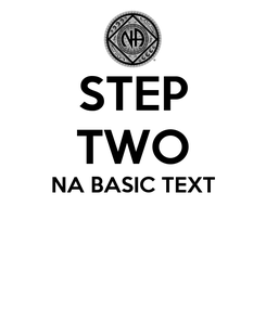 Poster: STEP TWO NA BASIC TEXT